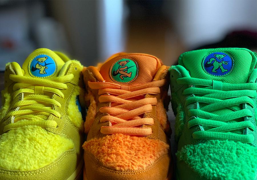 Nike Sb Grateful Dead Dunk Low Fecha De Lanzamiento My